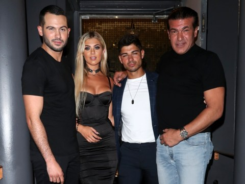 Love Island star Anton Danyluk fully welcomed into Belle Hassan's family as dad Tamer joins first dinner date