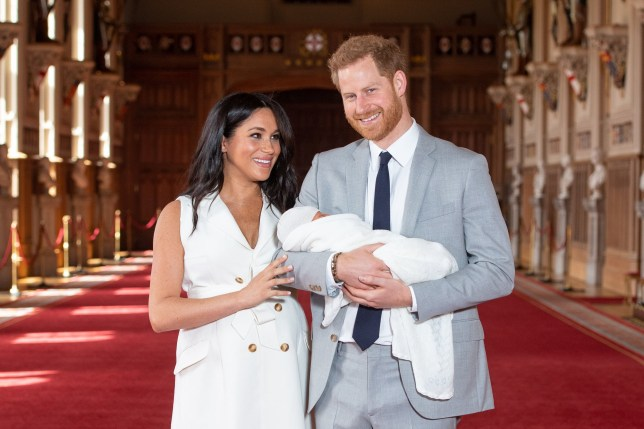 Embargoed to 0001 Tuesday June 25 File photo dated 08/05/19 of the Duke and Duchess of Sussex with their baby son Archie Harrison Mountbatten-Windsor, during a photocall in St George's Hall at Windsor Castle in Berkshire. The funding for the Duke and Duchess of Sussex's activities in the year Meghan officially joined the royal family contributed to a ??5 million bill to the Prince of Wales. PRESS ASSOCIATION Photo. Issue date: Tuesday June 25, 2019. See PA story ROYAL Accounts Charles. Photo credit should read: Dominic Lipinski/PA Wire