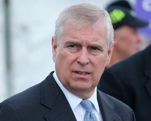 HARROGATE, ENGLAND - JULY 11: HRH Prince Andrew, Duke of York visits the Showground on the final day of the 161st Great Yorkshire Show on July 11, 2019 in Harrogate, England. Organisers of the show this year have revealed that overall entries for the three-day show are higher than in any previous years. The Great Yorkshire Show is Englands premier agricultural event and is organised by the Yorkshire Agricultural Society. The YAS support and promotes the farming industry through health care, business, education and funding scientific research into rural affairs. First held in 1838 the show brings together agricultural displays, livestock events, farming demonstrations, food, dairy and produce stands as well as equestrian events. The popular agricultural show is held over three days and celebrates the farming and agricultural community and their way of life. (Photo by Ian Forsyth/Getty Images)