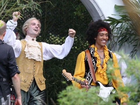 Rather excellent musicians Jimi Hendrix and Mozart join Bill & Ted 3