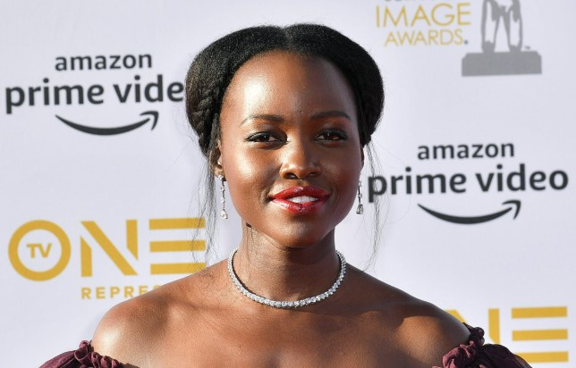 Mandatory Credit: Photo by Rob Latour/REX (10181038bv) Lupita Nyong'o 50th Annual NAACP Image Awards, Arrivals, Dolby Theatre, Los Angeles, USA - 30 Mar 2019