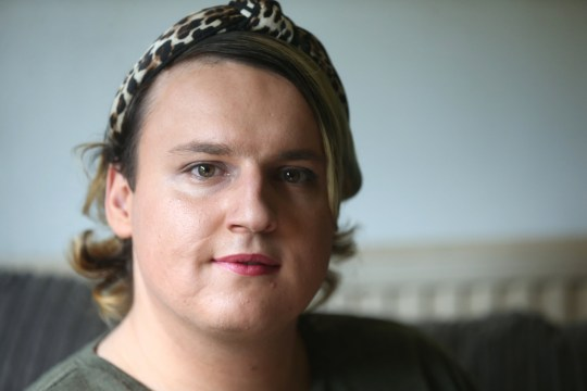 """A transgender woman has been in an ongoing battle with her bank who won't let her make transactions over the phone because """"she sounds like a man"""". Ellen Westerleigh, 22, was also sent a new bank card with 'Mr' rather than 'Miss' on it despite informing her bank on many occasions that she now identifies as a woman. caption: Ellen Westerleigh, 22"""