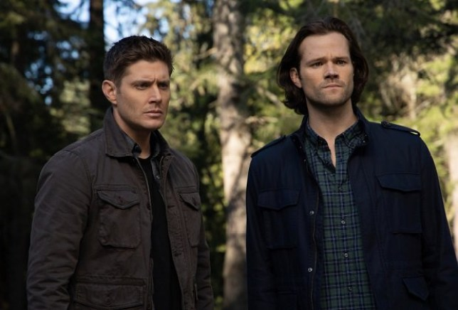 Jensen Ackles and Jared Padalecki as the Winchester Brothers in Supernatural