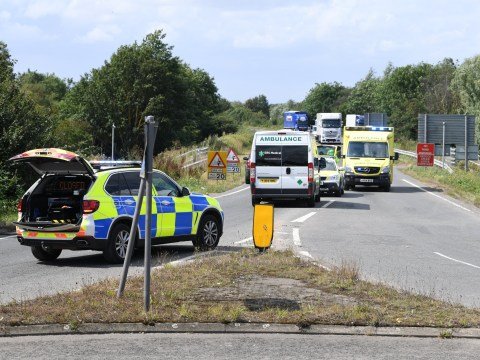 Teenager dead after falling out of moving car on A10 in Ely