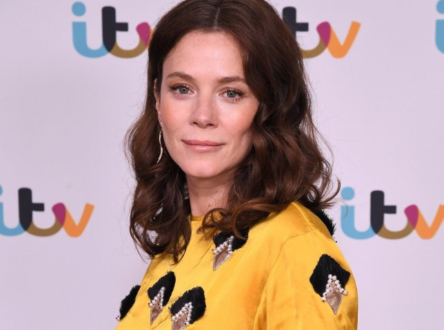 Anna Friel at the Deep Water premiere