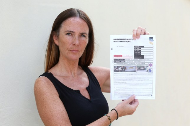 A furious mum is refusing to pay up after she was slapped with an enforcement notice while paying for petrol at East Midlands Airport. Ruth Pickering, 52, from Clifton, Nottinghamshire, was filling up with petrol at The Fuel Station in the airport grounds when he daughter arrived back from a holiday in Barcelona. Her daughter met her at the garage just as she was paying for petrol. She put her suitcase in the boot of the car and drove off. But days later, a ?60 enforcement notice was issued for 'stopping in a zone where stopping is prohibited.' They even sent her CCTV images of her daughter putting the case into the boot, and said the fine will rise to ?100 if not paid in 14 days.