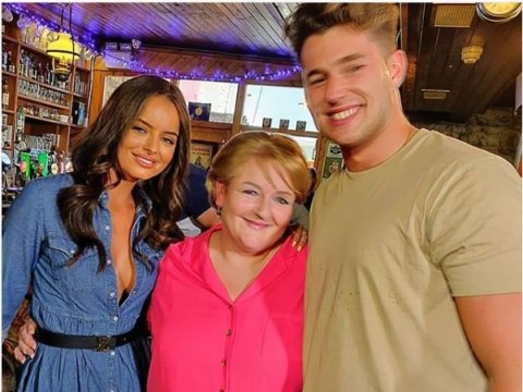 Love Island's Maura Higgins' mum gives Curtis Pritchard seal of approval after awkward first meeting