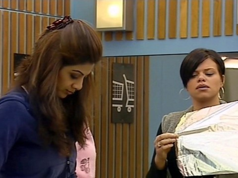 When was Jade Goody on Big Brother and what happened between her and Shilpa Shetty?