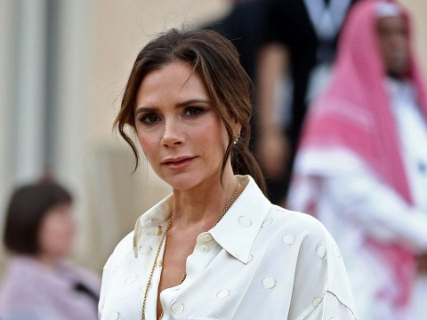 Victoria Beckham admits mum 'dabbed blusher on her' before school at age 8