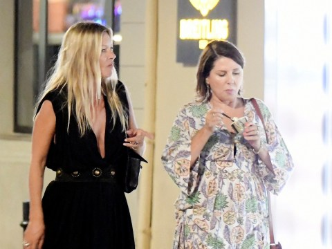 Kate Moss and Sadie Frost indulge in ice cream as long time BFFs spend night on the town
