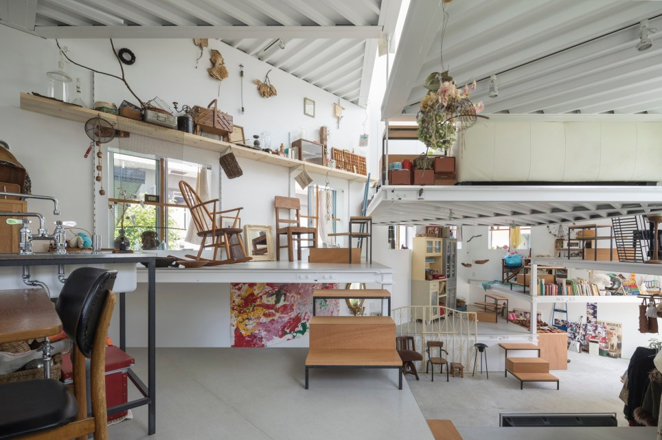 The home in Osaka, Japan has 13 different platforms