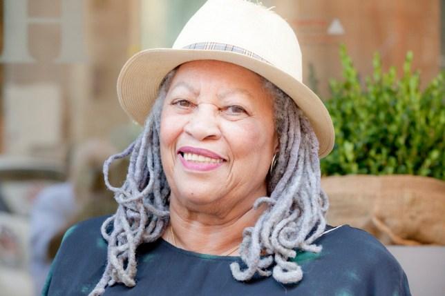 Toni Morrison, the American writer, novelist and editor