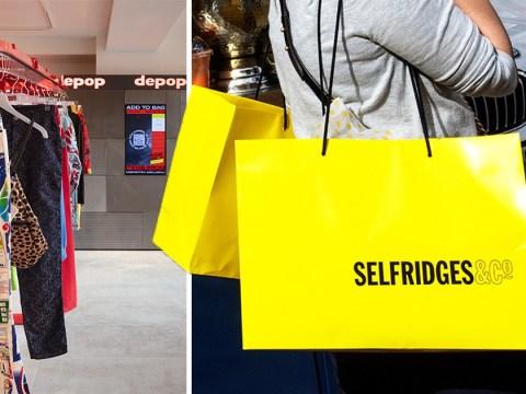 Depop launches pop-up shop in Selfridges