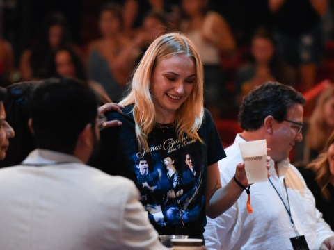Sophie Turner is the ultimate fangirl at Jonas Brothers concert