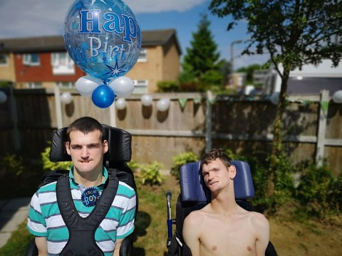 Grieving disabled man faces eviction after his brother's sudden death