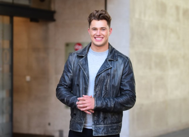 Curtis Pritchard outside Radio 1 studios where he announced that will join The Greatest Dancer as the receptionist. PRESS ASSOCIATION Photo. Picture date: Thursday August 8, 2019. The Love Island star will greet contestants and discuss their history with them before their auditions. See PA story SHOWBIZ Dancer. Photo credit should read: David Mirzoeff/PA Wire