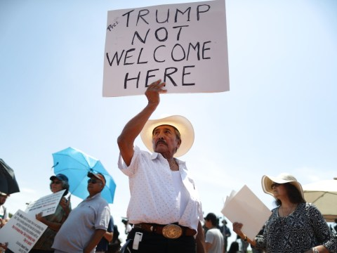 None of the El Paso shooting victims would meet with Donald Trump