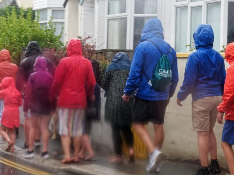 Stay at home warning as UK braces itself for heavy rain and thunderstorms