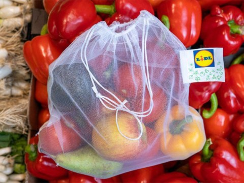 Lidl introduces reusable fruit and veg bags to cut down on plastic waste