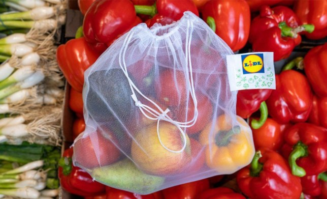 Lidl reusable fruit and veg bags