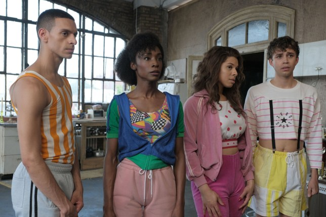 Jason A. Rodriguez, Angelica Ross, Hailie Sahar, Jeremy McClain 'Pose' TV Show