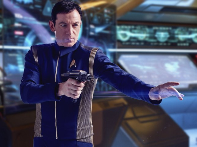Captain Lorca (Jason Isaacs) on Star Trek Discovery