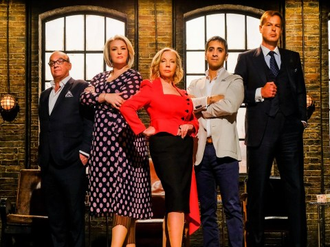 Who is on the panel of Dragon's Den 2019 and what are their day jobs, investments and net worth?