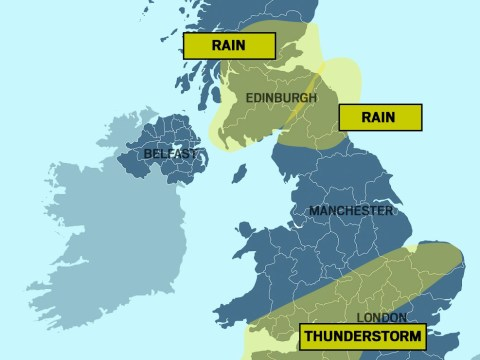 Severe weather warnings issued for Scotland and the north