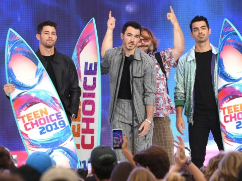 The Jonas Brothers speak out against bullying as they win big at Teen Choice Awards