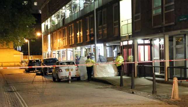 Man stabbed to death in Munster Square, north west London