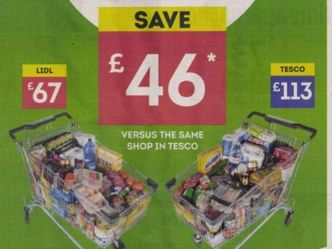 Lidl advert banned after 'misleading' Tesco price comparison claims
