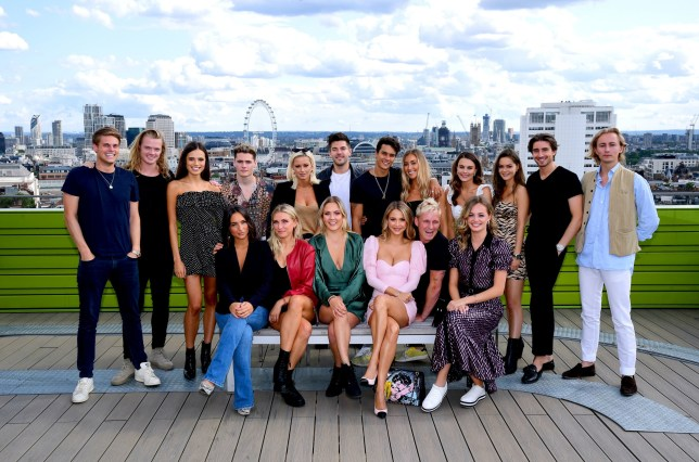 The Made in Chelsea cast came together today to launch the 18th series of the BAFTA award winning show, which is due to hit screens this Autumn. PRESS ASSOCIATION Photo. Picture date: Tuesday August 13, 2019. Photo credit should read: Ian West/PA Wire