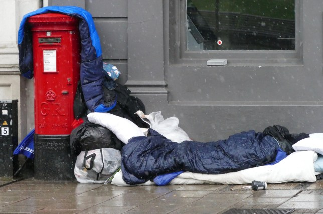 One homeless person dies every 19 hours in modern Britain