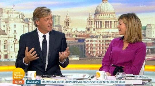 richard Madeley and kate garrway