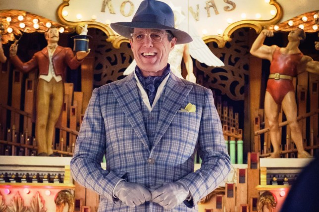 Editorial use only. No book cover usage. Mandatory Credit: Photo by Warner Bros/Moviestore/REX (9471149j) Hugh Grant Paddington 2 - 2017
