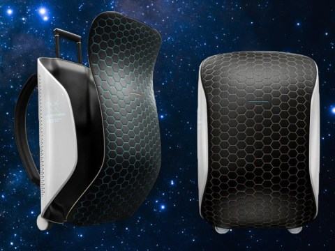 Futuristic luggage bag is ready for space tourism to become reality