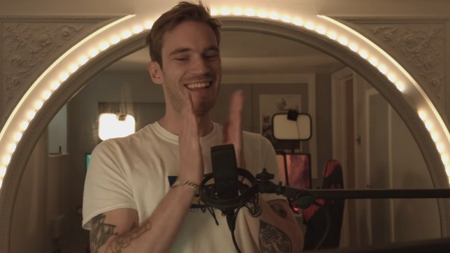 PewDiePie 'doesn't feel worthy' after 100 million YouTube subscribers as he jets off on honeymoon with Marzia Bisognin