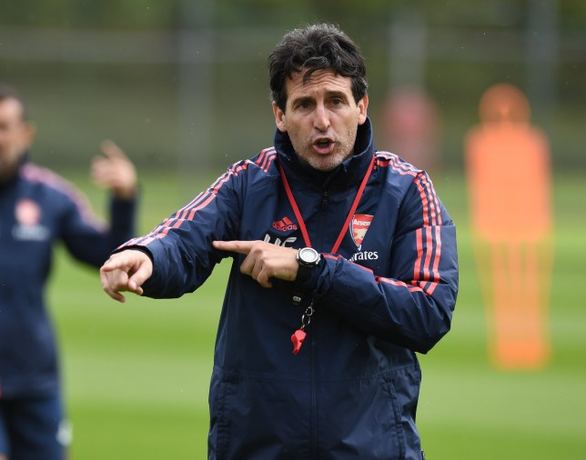 Unai Emery could change his starting XI ahead of Arsenal's clash with Liverpool