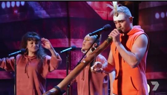 Mitch Tambo on Australia's Got Talent