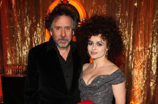 LONDON, UNITED KINGDOM - MARCH 20: Director Tim Burton and actress Helena Bonham Carter attend 'A Night Of Funk & Soul 2013' for Save The Children UK at The Roundhouse on March 20, 2013 in London, England. (Photo by David M. Benett/Getty Images)