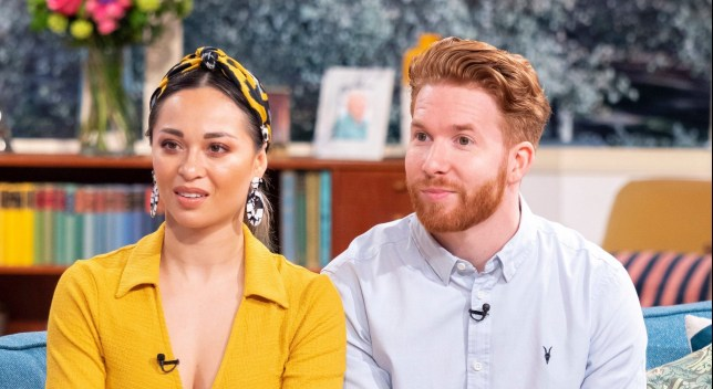 Katya Jones and Neil Jones on This Morning