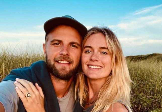 Harry Wentworth-Stanley and Cressida Bonas together after they get engaged