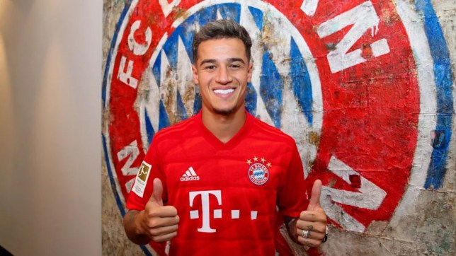 Barcelona have agreed to loan Philippe Coutinho to Bayern Munich
