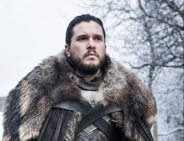 Editorial use only. No book cover usage. Mandatory Credit: Photo by HBO/BSkyB/Kobal/REX (10222109q) Kit Harington as Jon Snow 'Game of Thrones' TV Show Season 8 - 2019 Nine noble families fight for control over the mythical lands of Westeros, while an ancient enemy returns after being dormant for thousands of years.