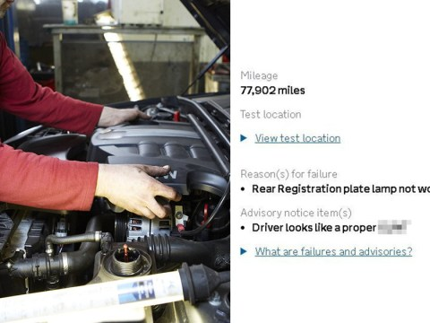 We're not sure this is a reason a car should fail its MOT
