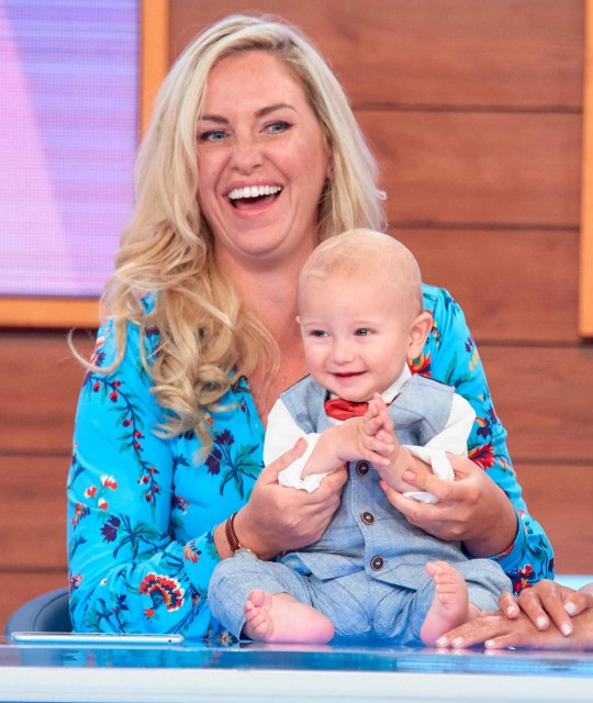 Josie Gibson on Loose Women with son Reggie
