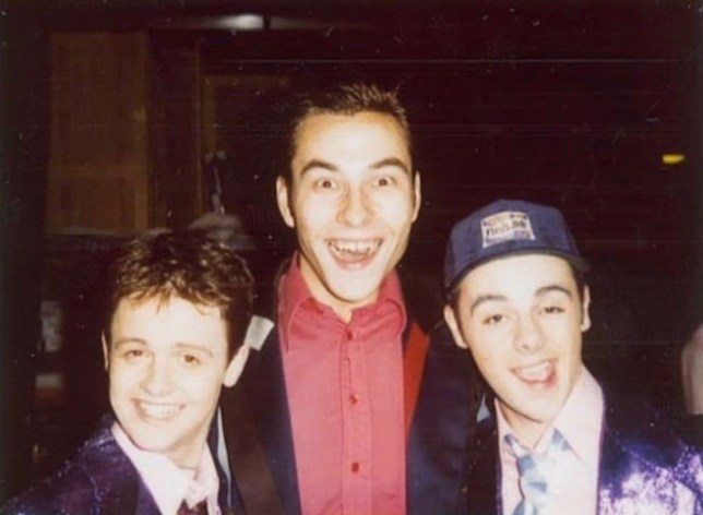 David Walliams shares epic throwback snap with Ant and Dec and it's a sight to behold