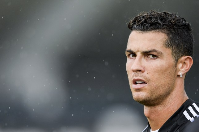 TURIN, ITALY - AUGUST 19: Juventus player Cristiano Ronaldo during a training session at JTC on August 19, 2019 in Turin, Italy. (Photo by Daniele Badolato - Juventus FC/Juventus FC via Getty Images)