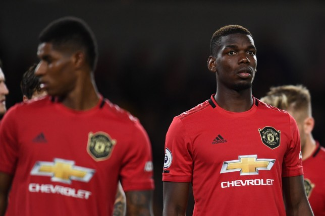 Ole Gunnar Solskjaer was furious with Paul Pogba and Marcus Rashford (Picture: Getty)