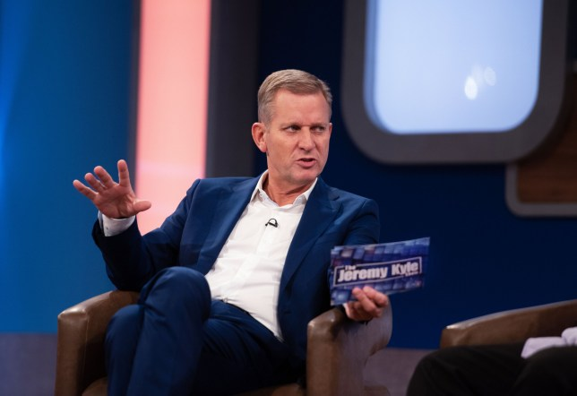 Editorial use only Mandatory Credit: Photo by ITV/REX (10037937f) Jeremy Kyle 'The Jeremy Kyle Show' TV Show UK - Jan 2019 The Jeremy Kyle Show, is a British ITV tabloid talk show presented by Jeremy Kyle, which helps the public get to grips with real-life issues, ranging from indiscretions and infidelities to fetishes and flirting, in a show that brings real-life issues and dilemmas for Jeremy to deal with.